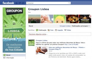 Groupon no Facebook